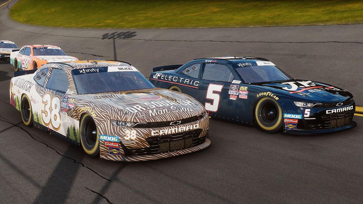 NASCAR Heat 4 fps