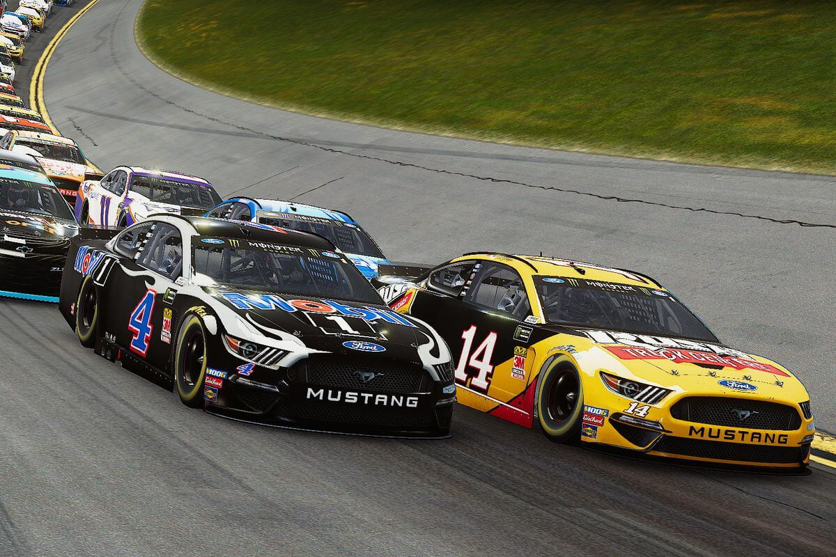 NASCAR Heat 4 graficos