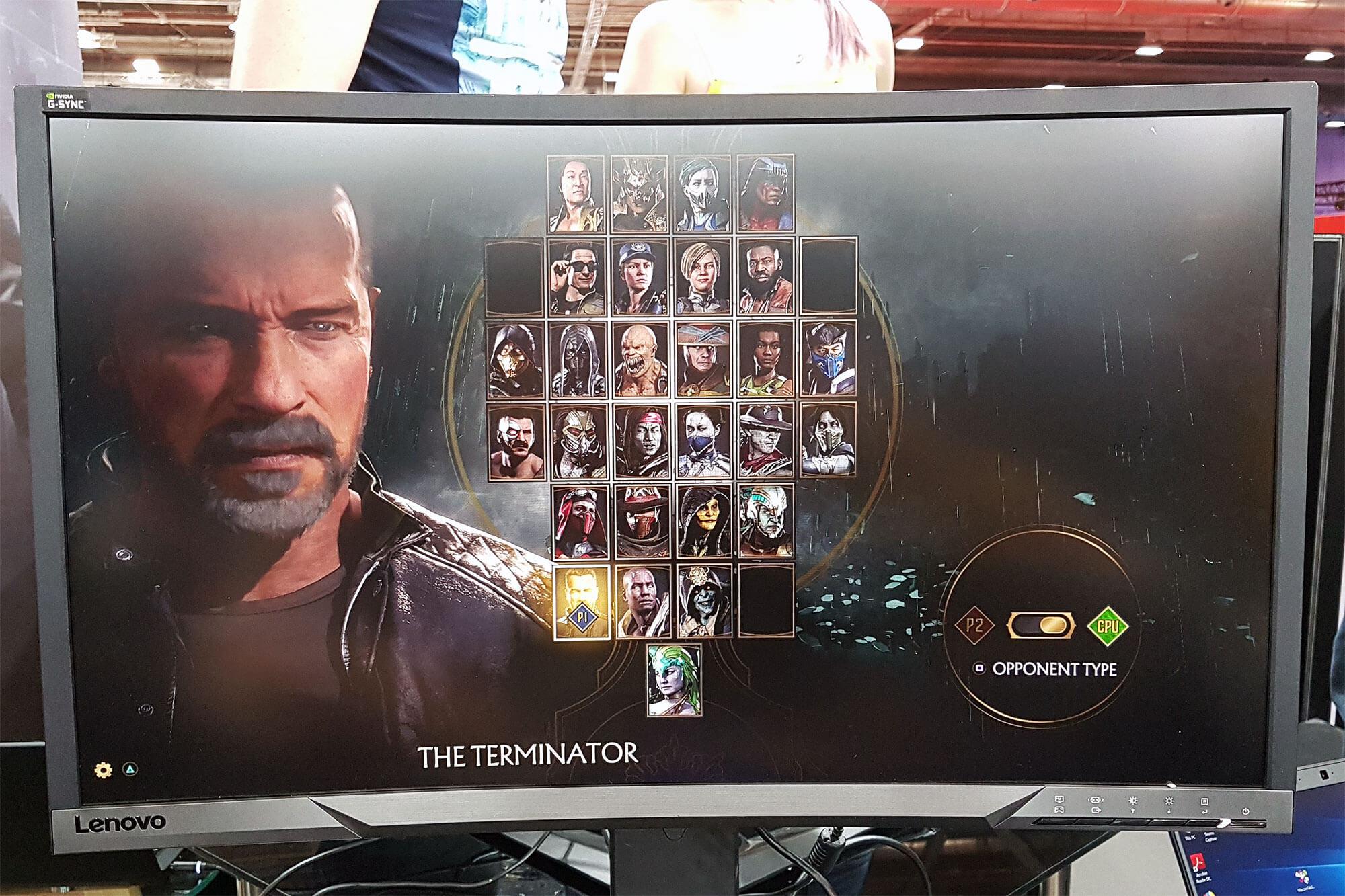 Terminator Mortal Kombat 11 LAPS4