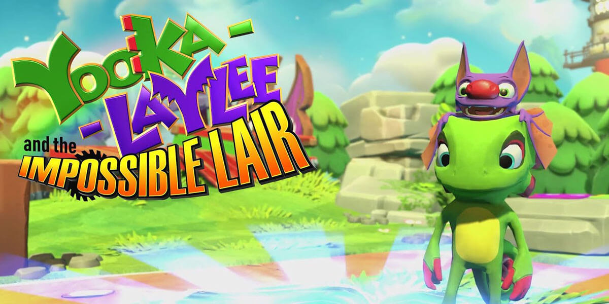 Yooka-laylee and the impossible lair analisis PS4