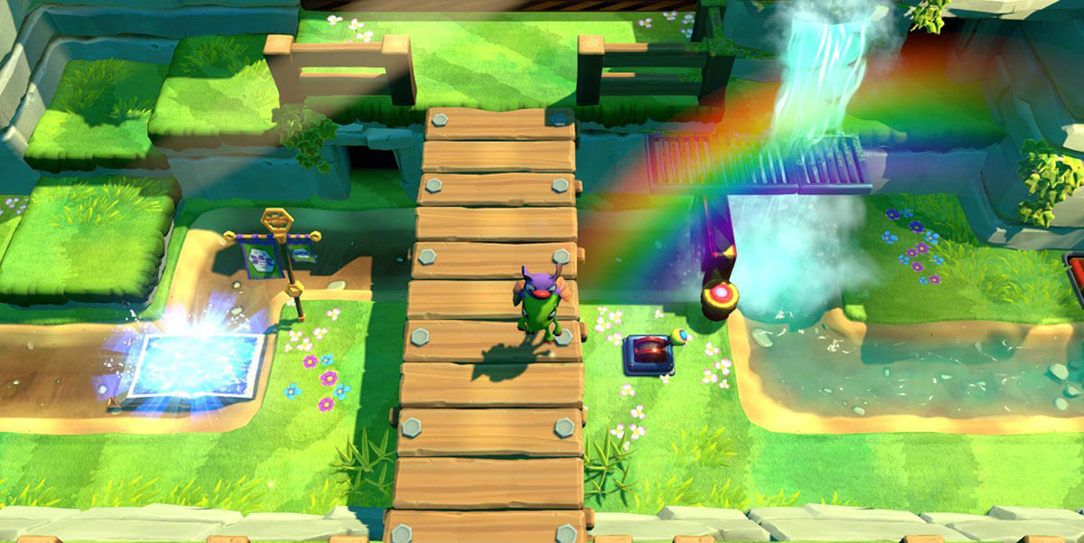 Yooka-laylee and the impossible lair juego de plataformas