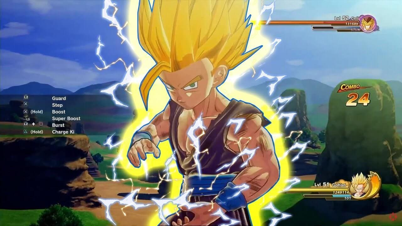 Gohan en Dragon Ball Z: Kakarot