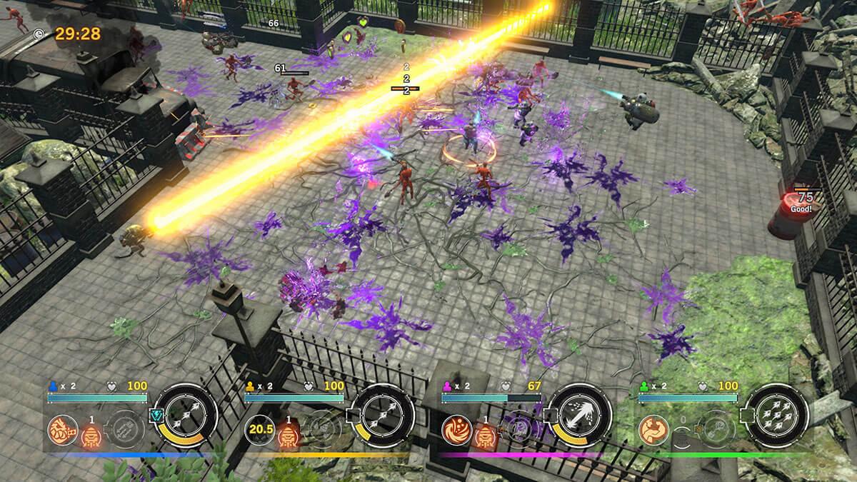 Contra ROGUE CORPs para PS4