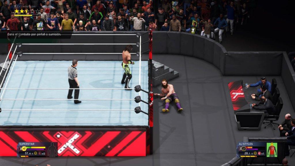 Análisis de WWE 2K20 para PS4