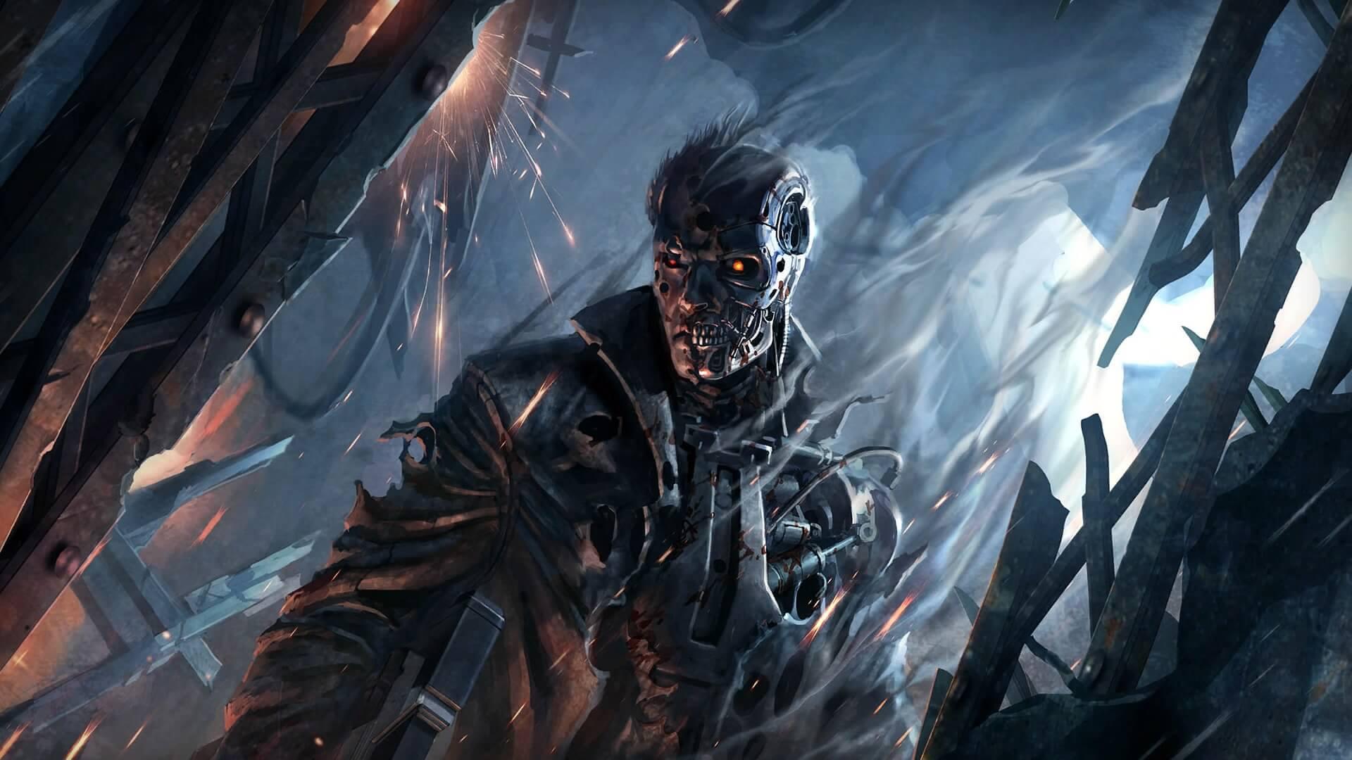 Terminator: Resistance portada