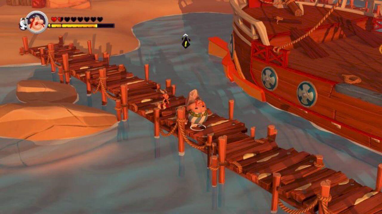 Asterix & Obelix XXL 3 jugabilidad