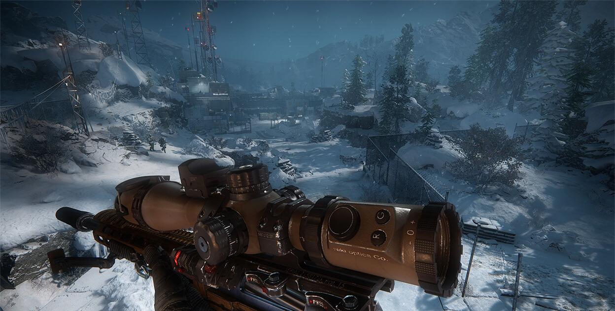 graficos de sniper ghost warrior