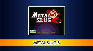 ACA NEOGEO METAL SLUG 5