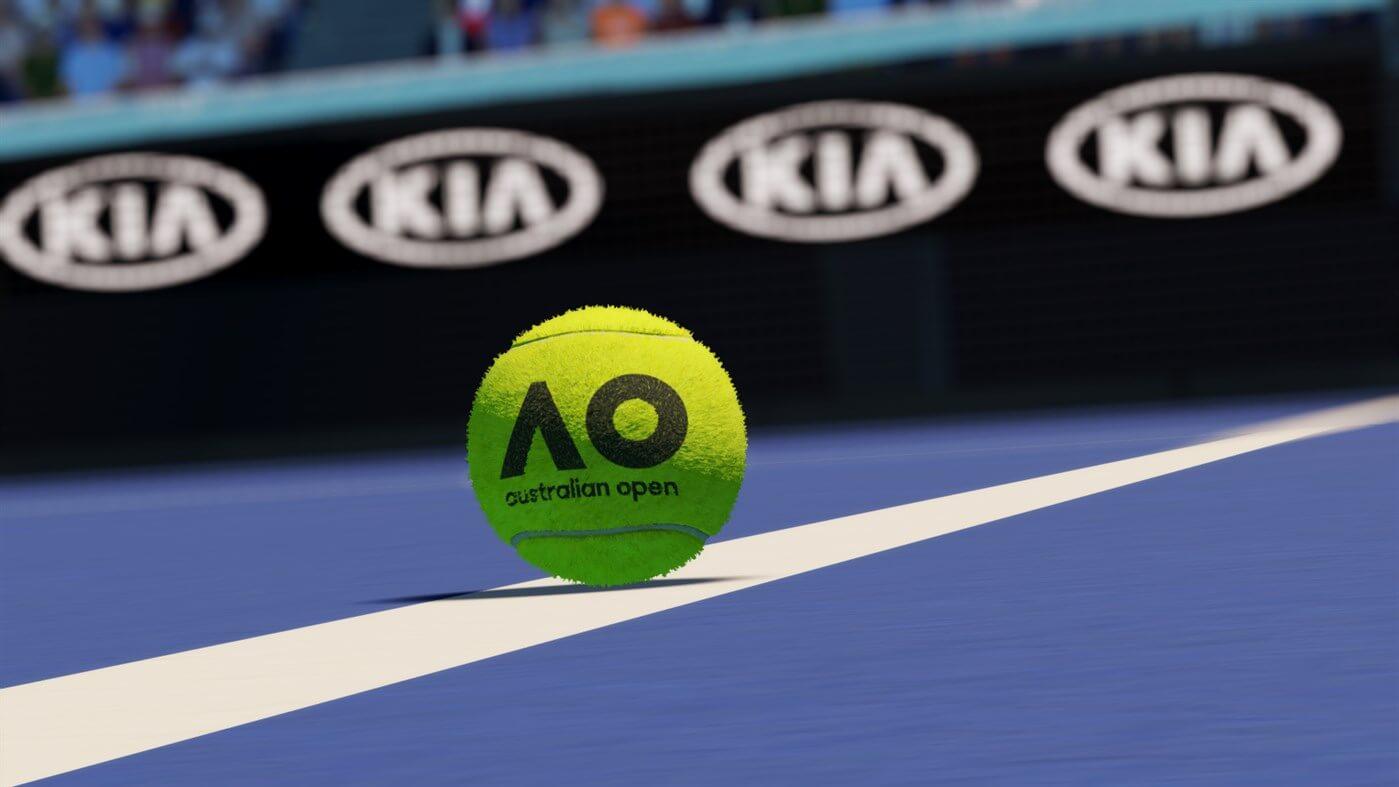 AO Tennis 2 jugabilidad