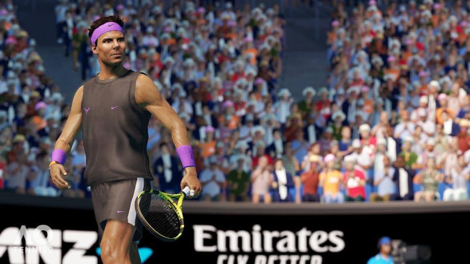 Australia open tenis 2 ps4
