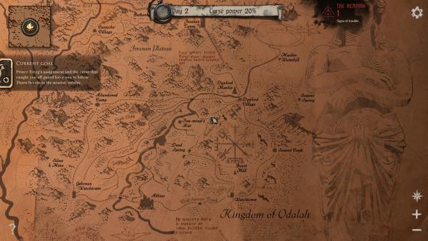 mapa de ash of god: redemption
