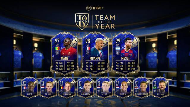 TOTY FIFA 20