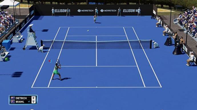 Gameplay AO Tennis2