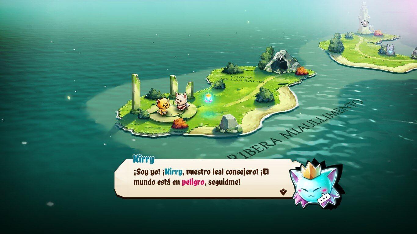 jugabilidad cat quest 2