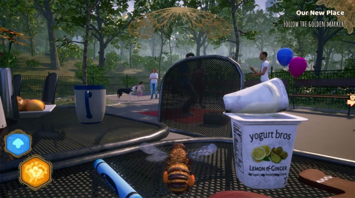 Bee Simulator minijuegos PS4