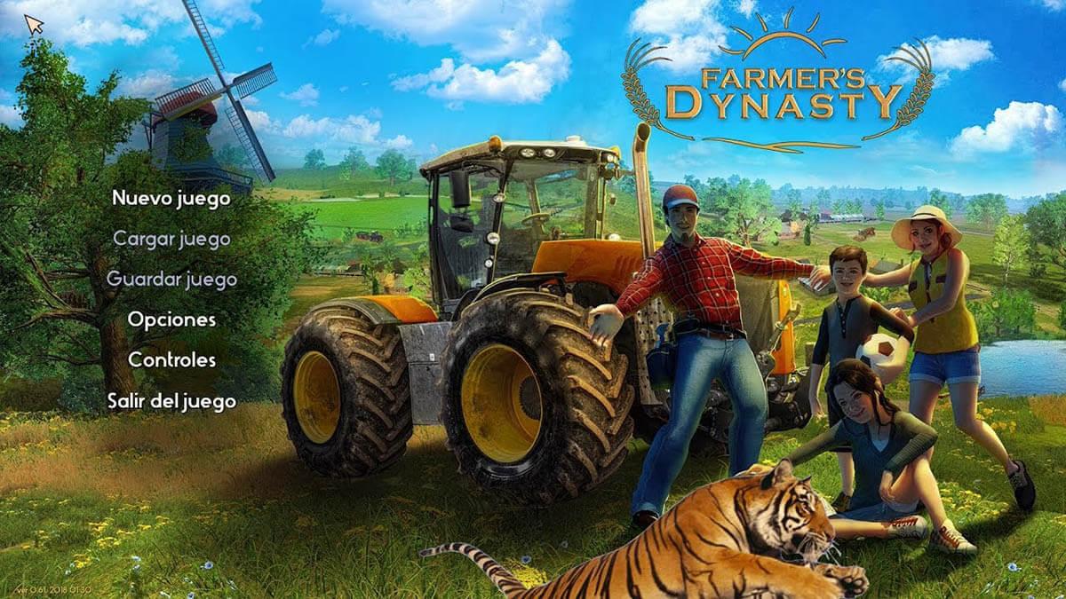 Farmer's Dynasty sonido y traduccion