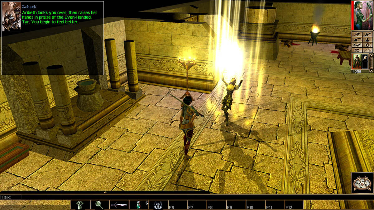 Neverwinter Nights horas de juego