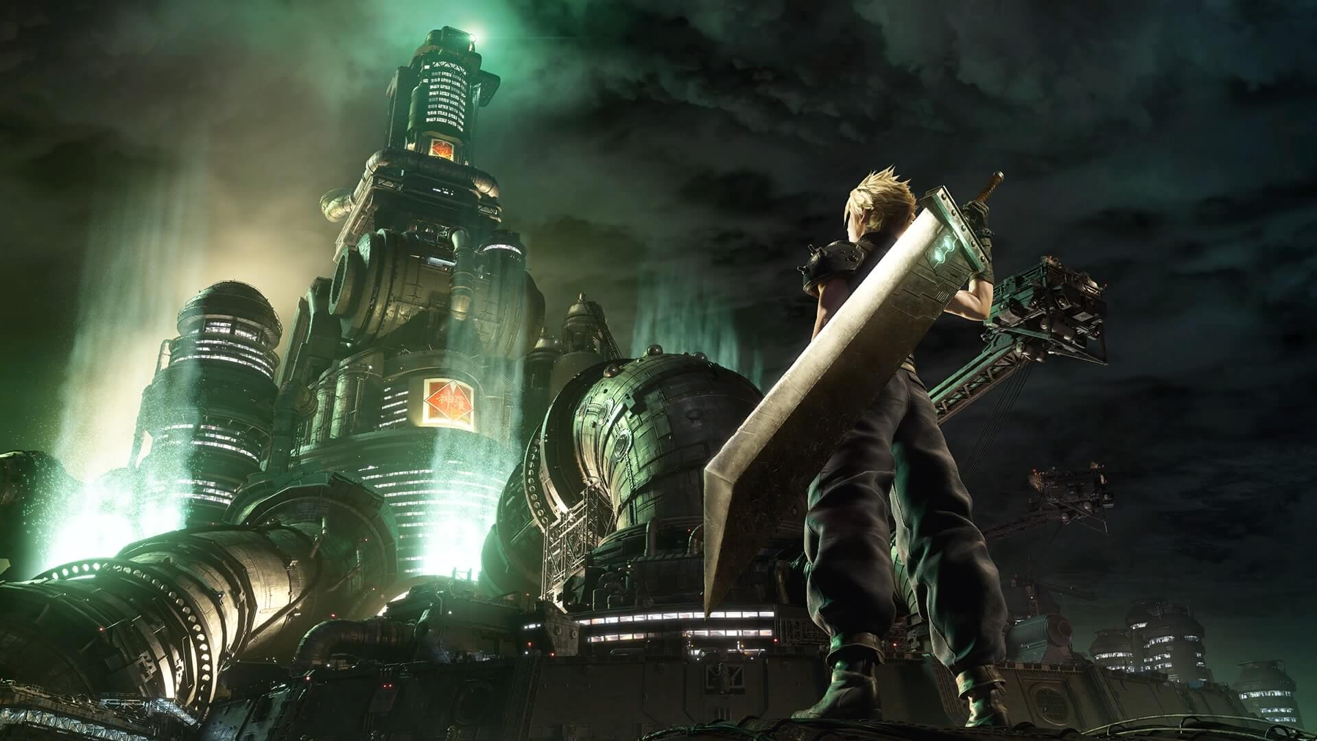Portada de Final Fantasy VII Remake