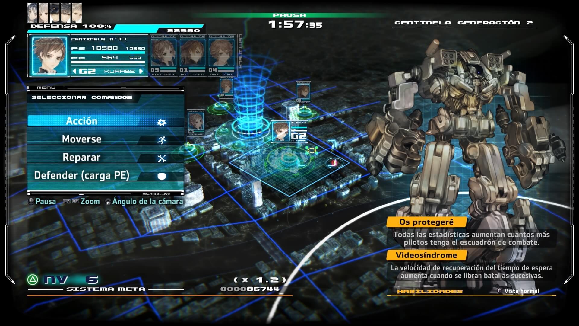 Los Centinelas de 13 Sentinels: Aegis Rim
