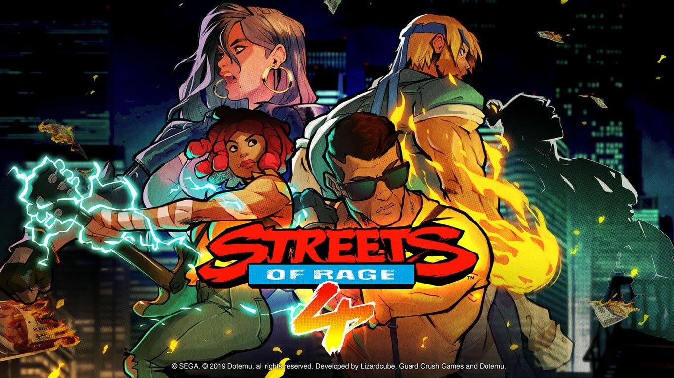 Street of Rage 4 portada