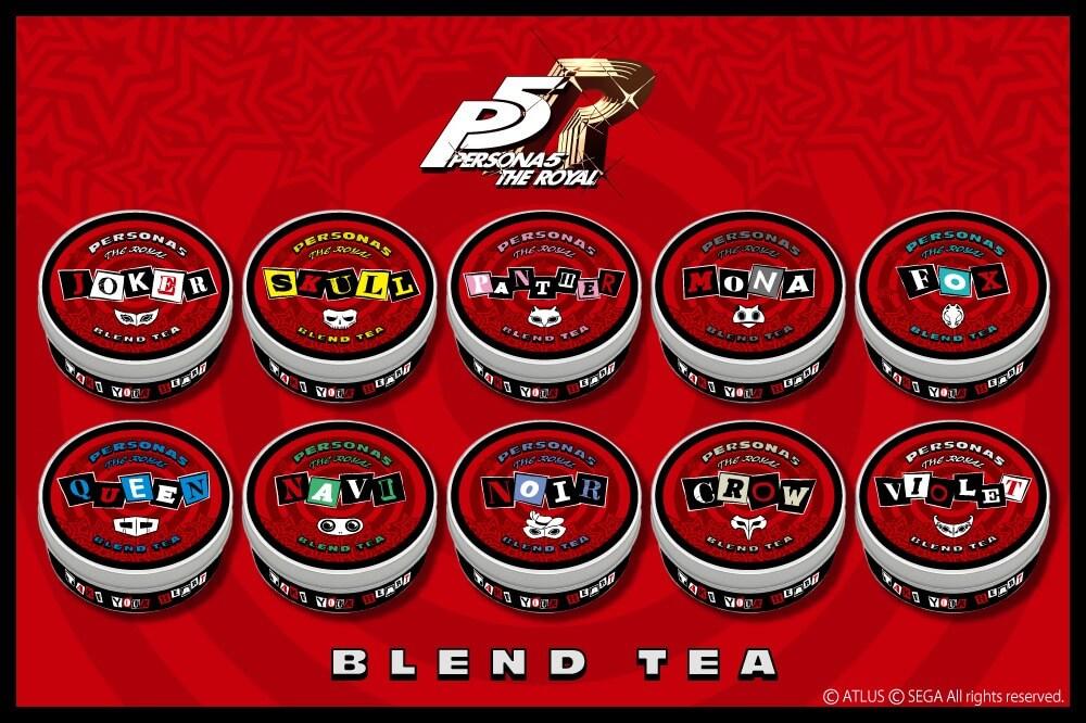 Persona 5 tendrá su propia línea de té inspirada en sus personajes