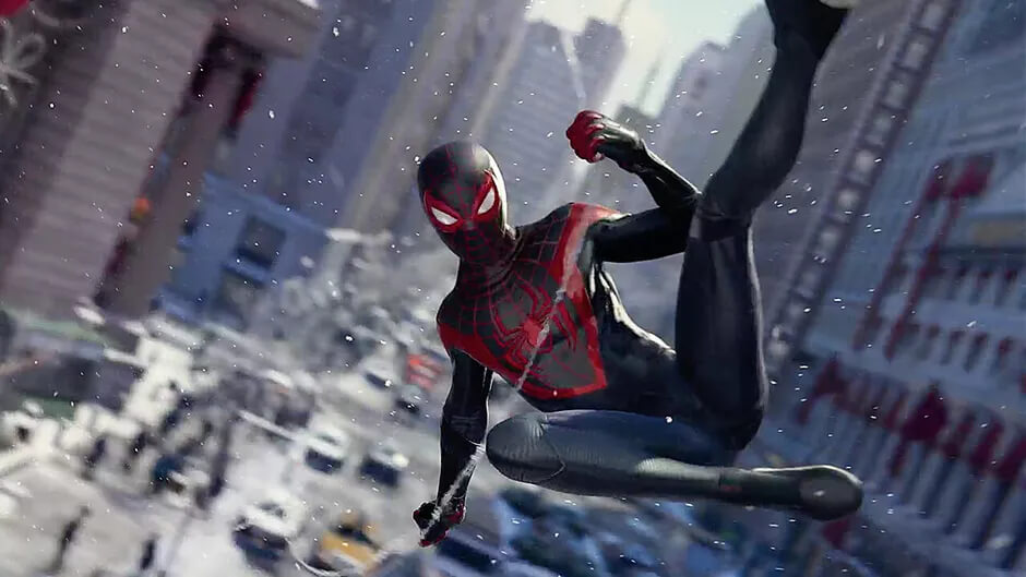 Crasheos de Spider-Man Miles Morales no pueden dañar tu PS5, según Insomniac