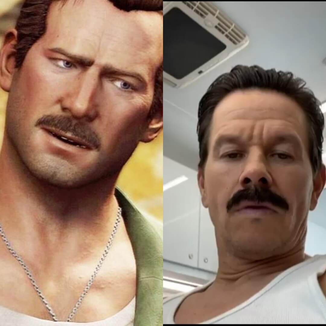 Mark Wahlberg se muestra como Sully para la película de Uncharted