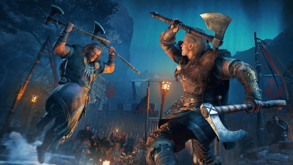 Assassin's Creed Valhalla en la cima de las ventas de noviembre en España