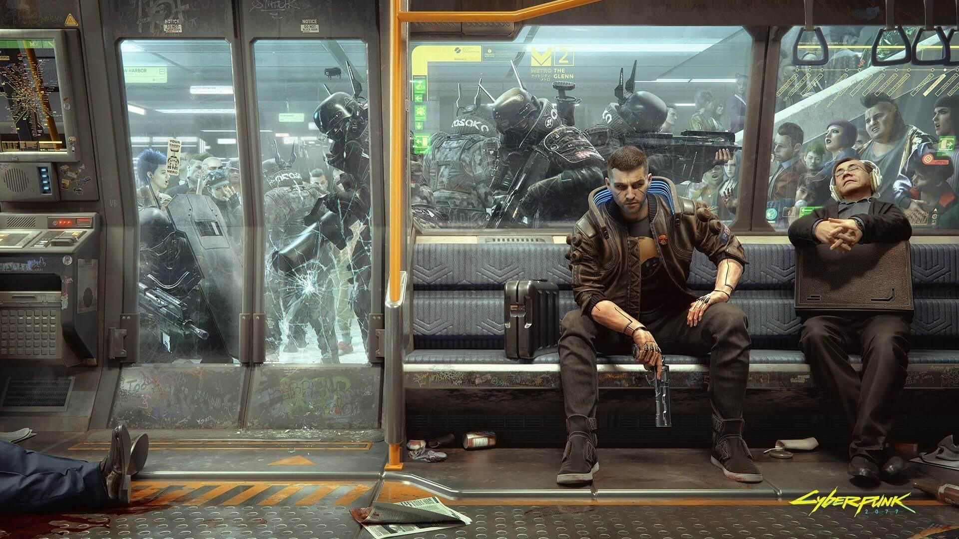 """Cyberpunk 2077 corre """"sorprendentemente bien"""" en PS4 según CDPR"""