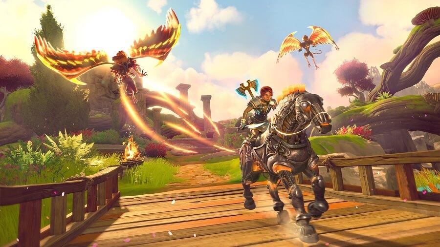 Immortals Fenyx Rising nació de un bug de Assassin's Creed Odyssey