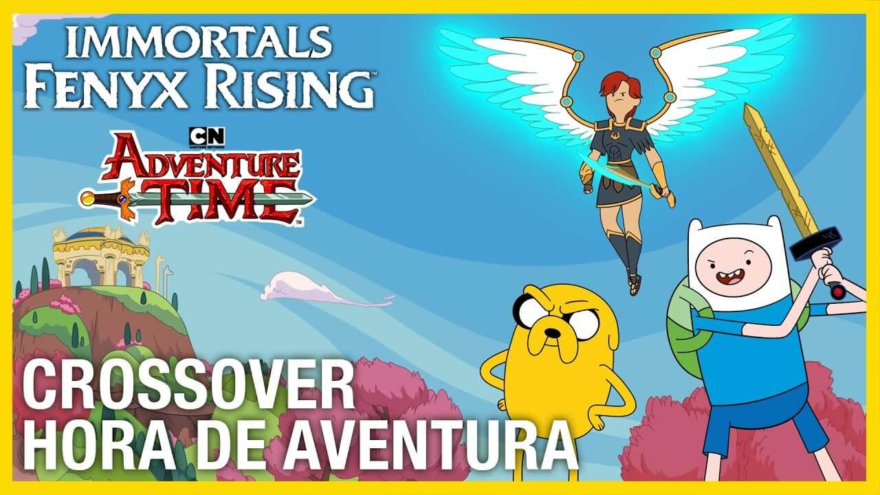 Immortals Fenyx Rising y Hora de Aventuras se unen en un nuevo tráiler