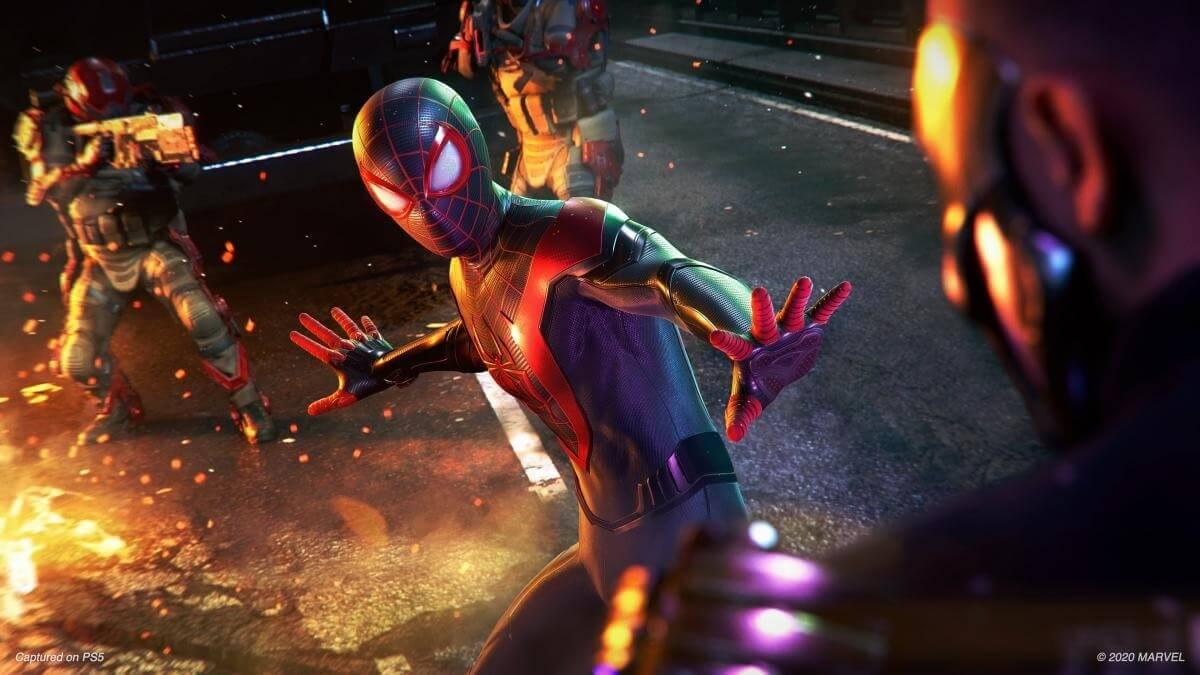 Spider-Man Miles Morales lidera las ventas semanales en Reino Unido