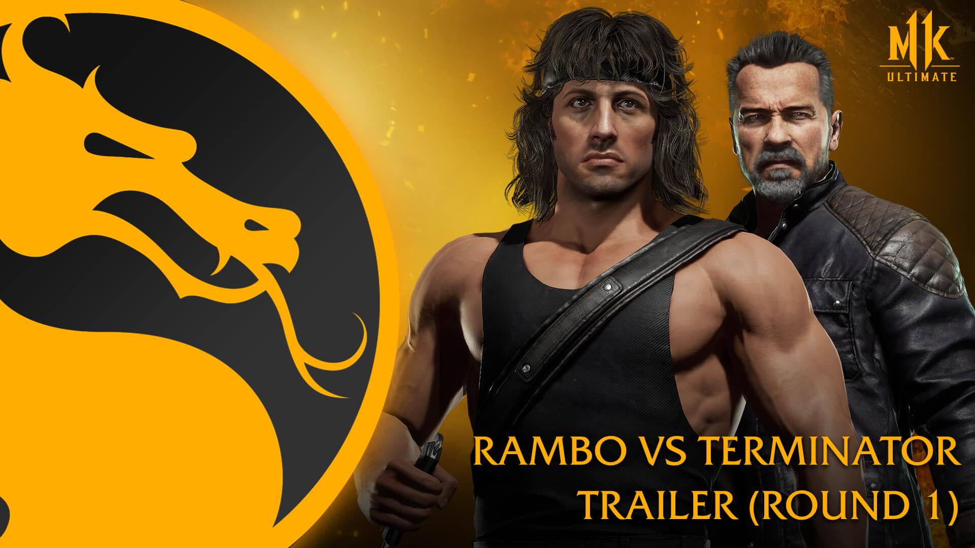 ¿Rambo vs Terminator? Mortal Kombat 11 lo hace posible en un tráiler