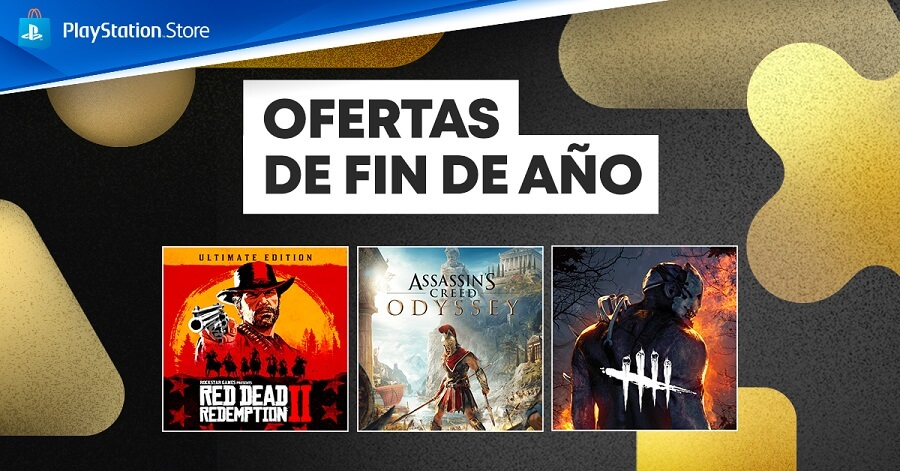 God of War y Red Dead Redemption 2 en las ofertas de fin de año de PS Store