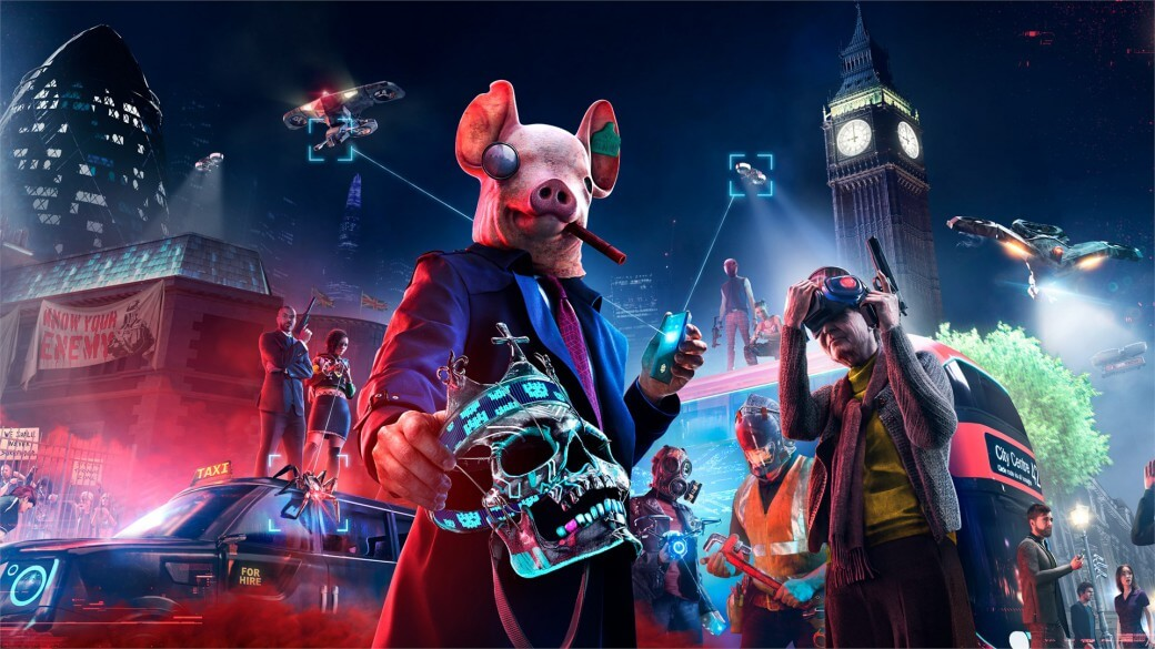Watch Dogs Legion | Actualización pesa solo 3.2 GB en PS5 y más de 40 GB en Xbox Series X|S