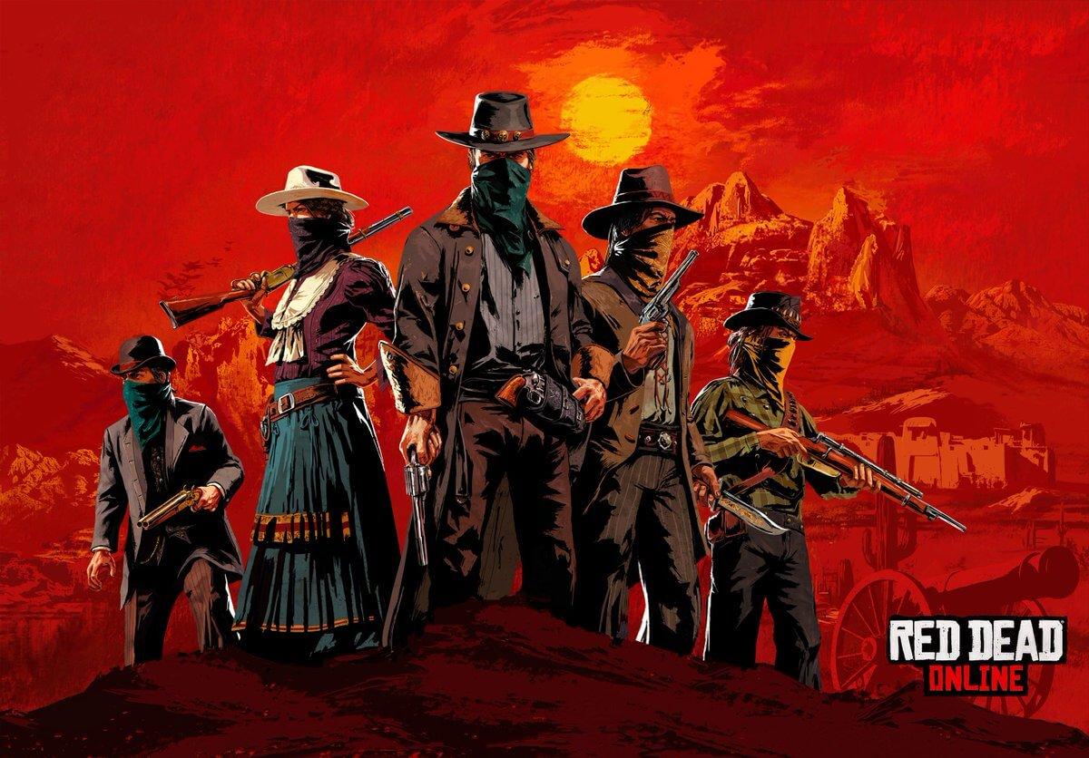 Portada de Red Dead Online