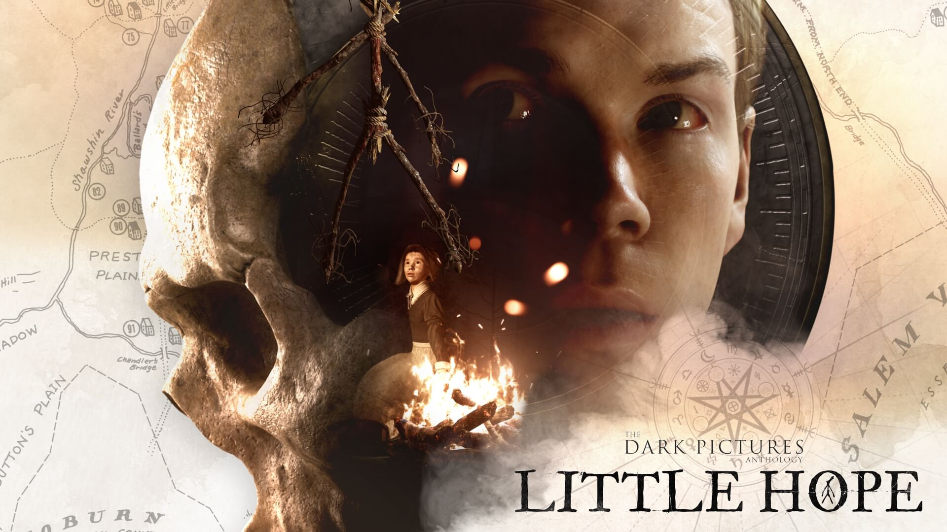 The Dark Pictures Little Hope portada