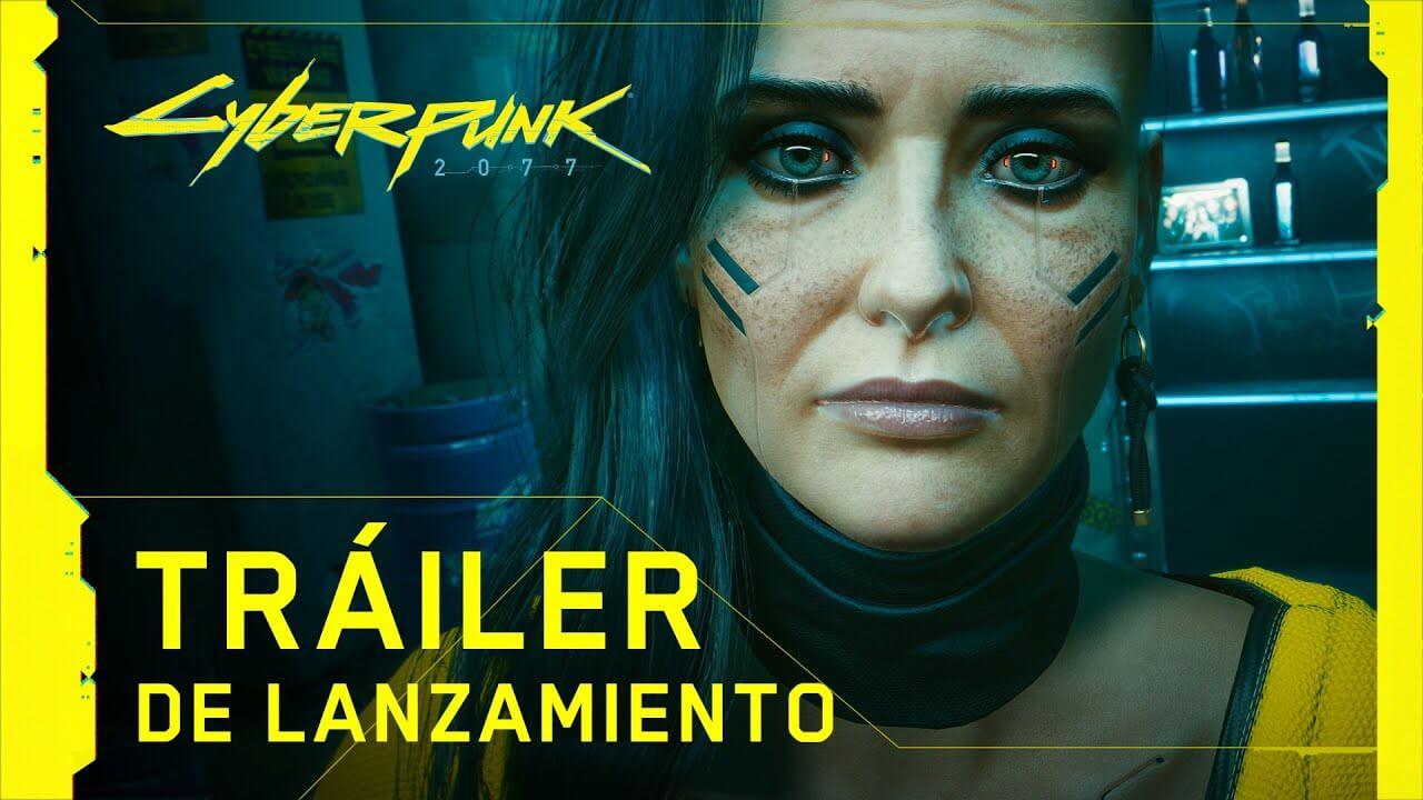 Cyberpunk 2077 nos presenta su historia en su espectacular tráiler de lanzamiento
