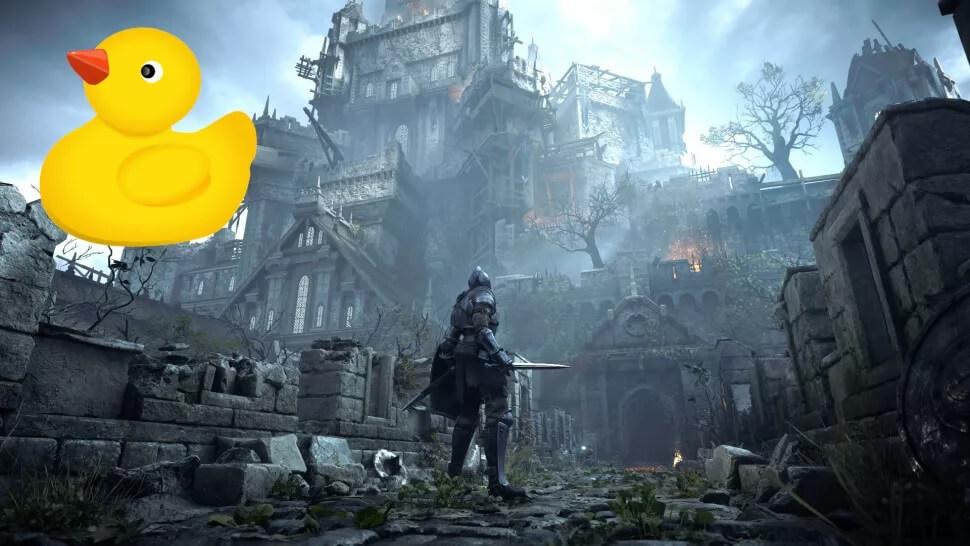 Demon's Souls: se utilizaron patitos de goma para hacer pruebas en el desarrollo