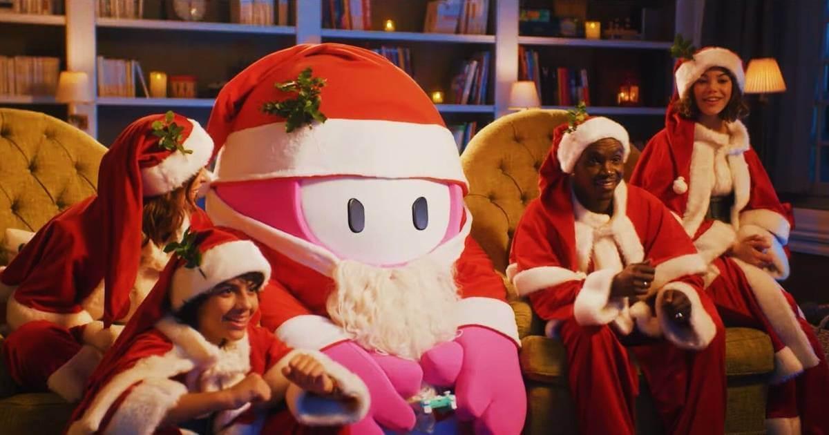 Fall Guys celebra la navidad con un nuevo traje y un tráiler de acción real