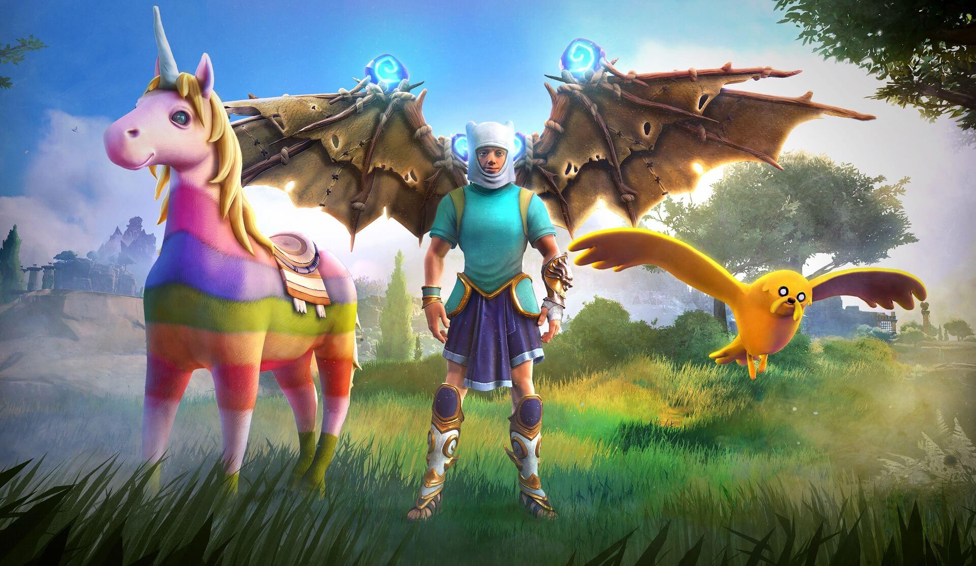 Immortals Fenyx Rising añade un pack de personajes de Hora de Aventuras