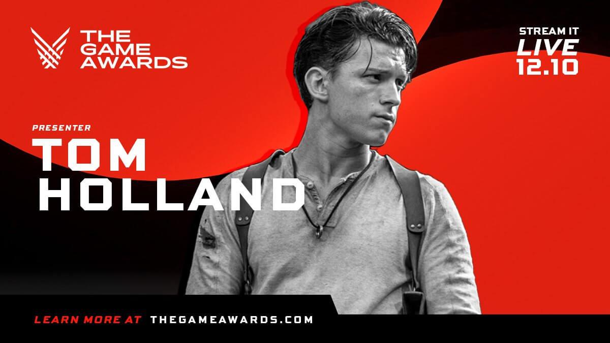 Tom Holland será uno de los presentadores de los Game Awards 2020