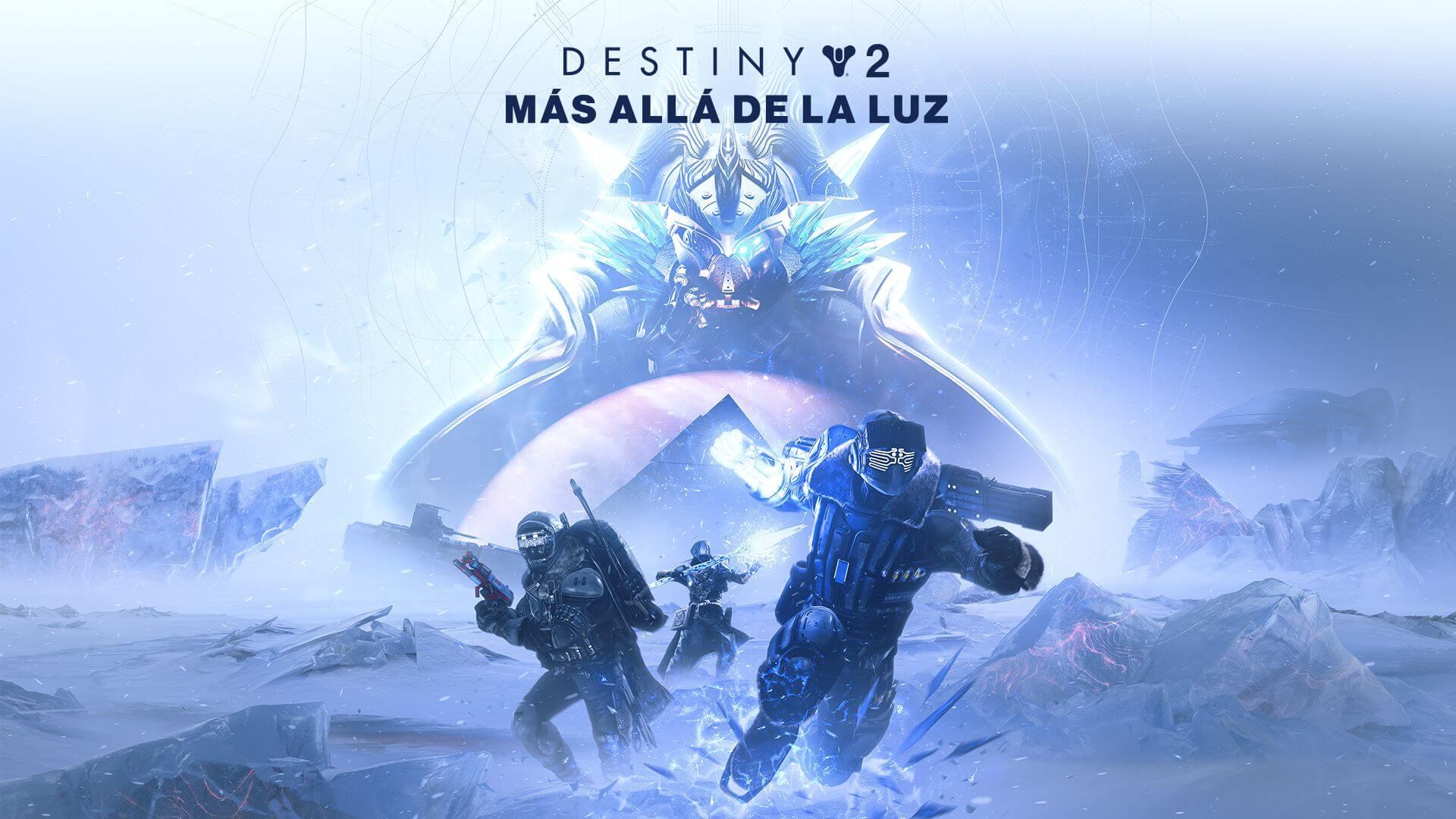 Destiny 2 Más allá de la luz Portada