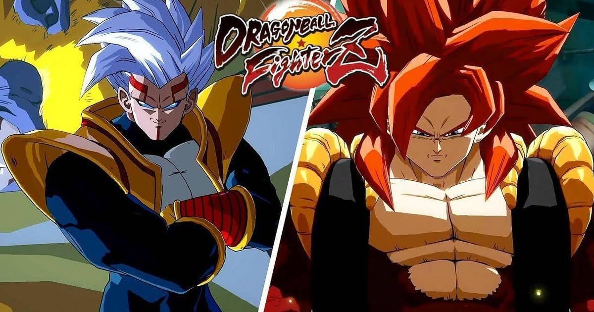 Portada super Baby y Gogeta Dragon Ball FighterZ