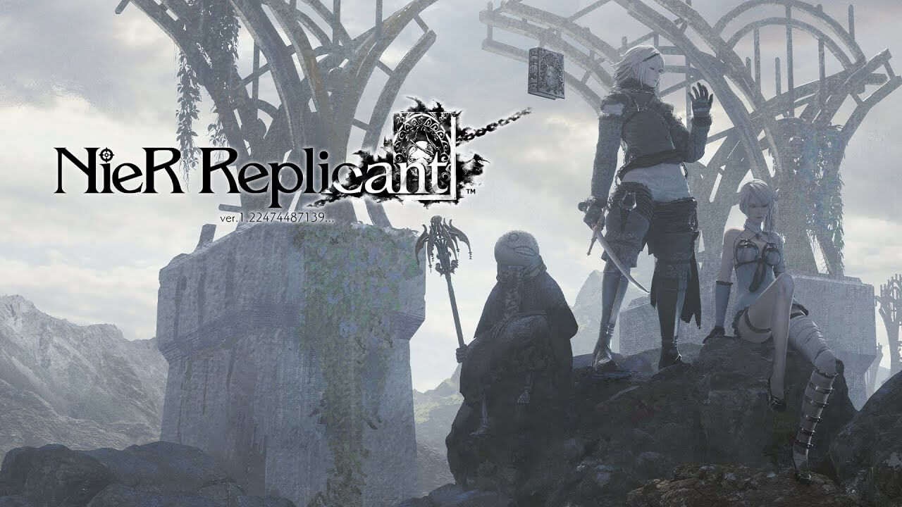 Portada NieR Replicant teaser