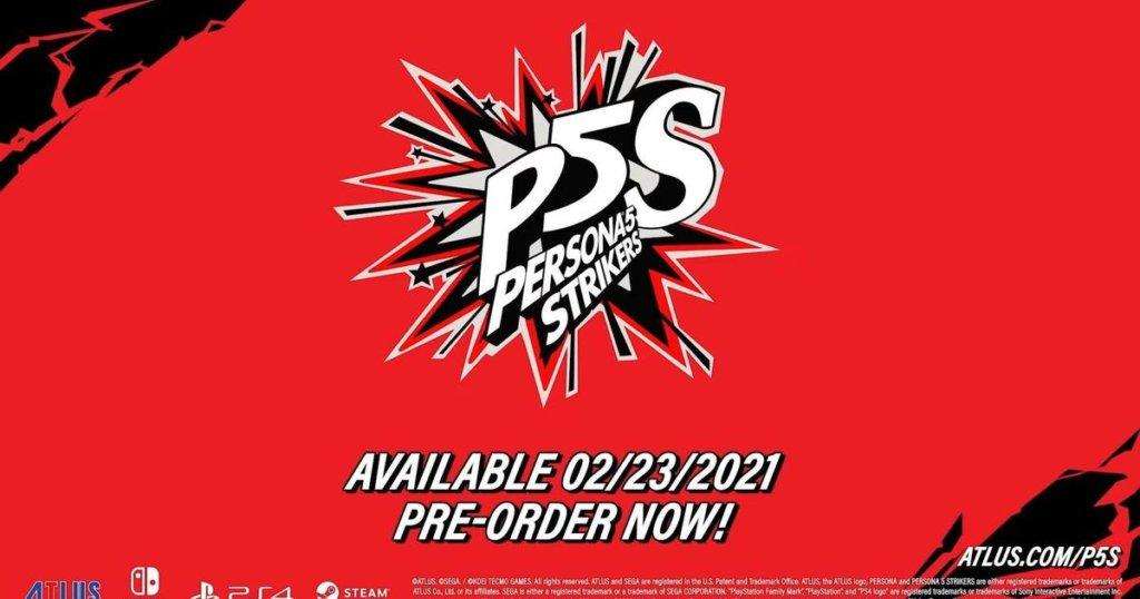 Fecha de lanzamiento de Persona 5 Strikers