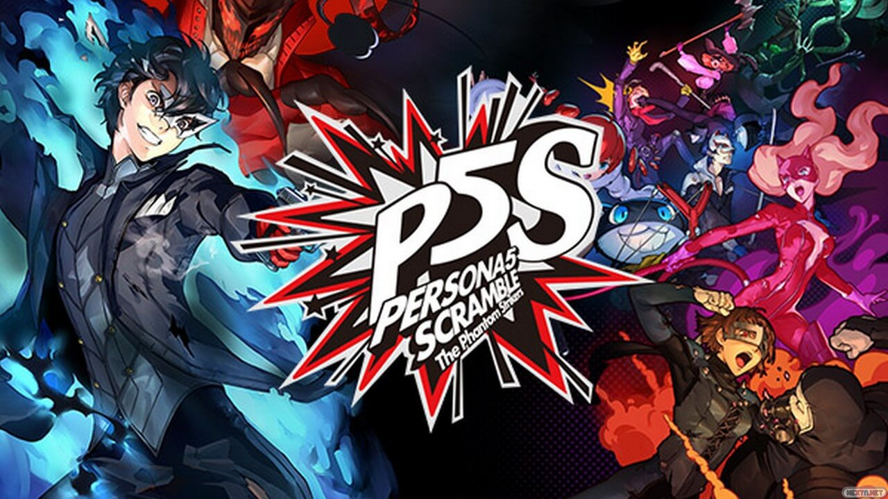 Portada Persona 5 Strikers
