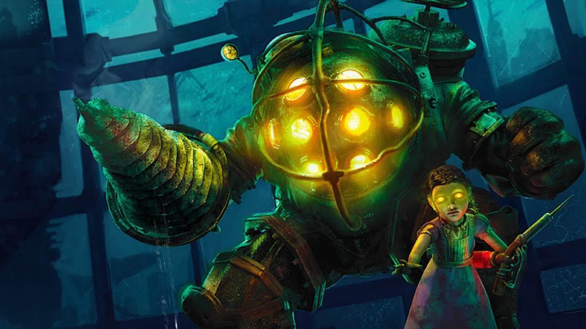 Arte conceptual muestra el terrorífico rostro de los Big Daddy de BioShock