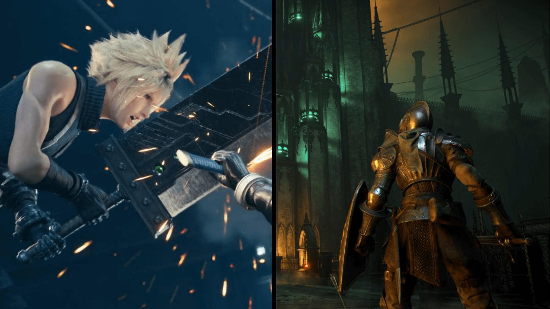 Demon's Souls y Final Fantasy VII Remake, los más descargados de PS Store en Japón