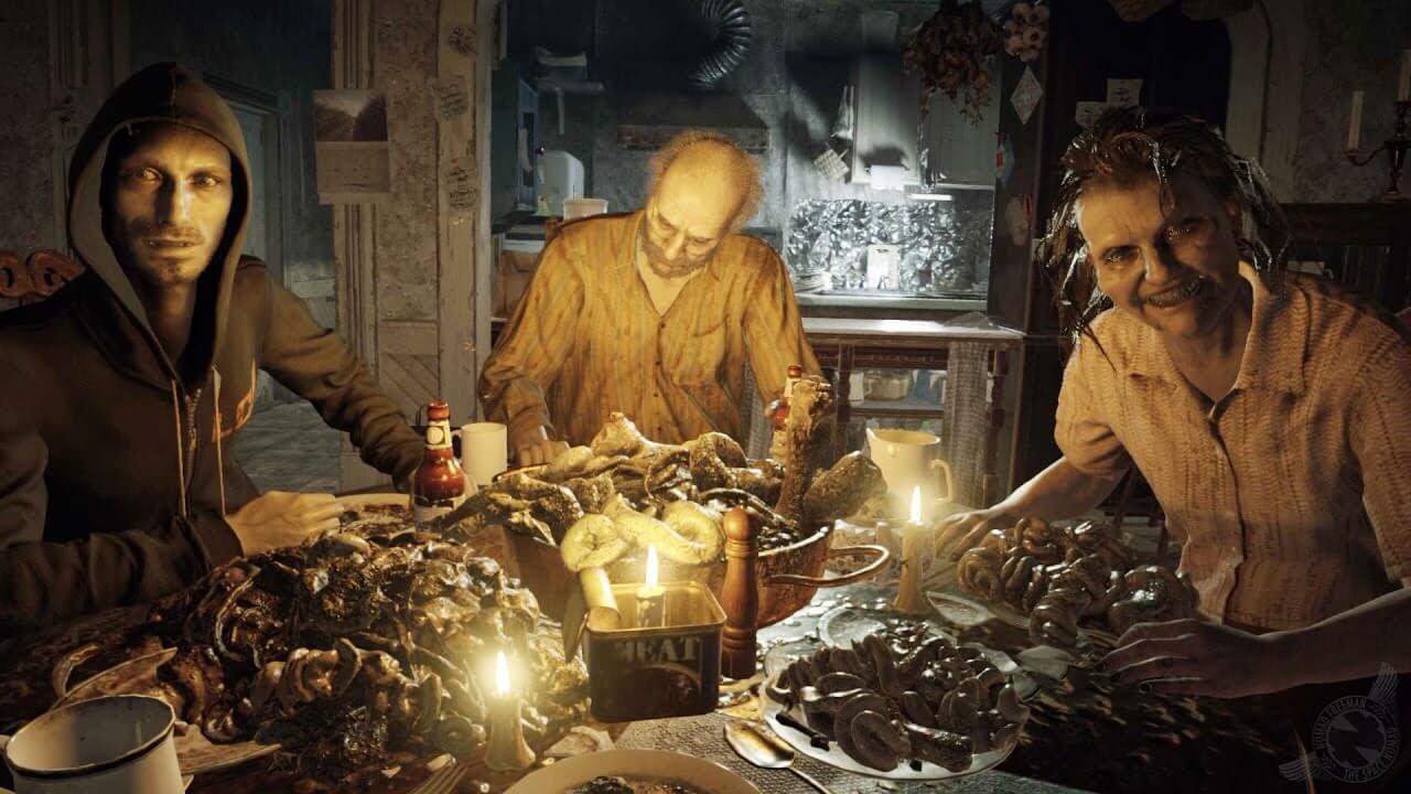 Resident Evil 7 Biohazard: Desvelan diseños no utilizados de la familia Baker